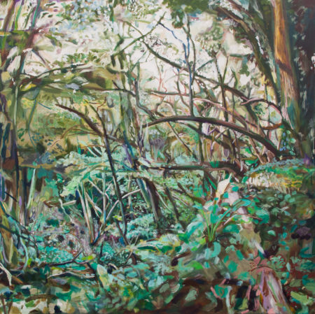 Painting of a Lime Kilm Copse by Noel Hefele