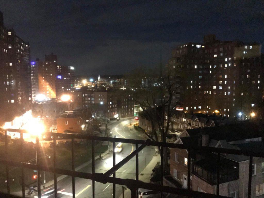 The Bronx under quarantine