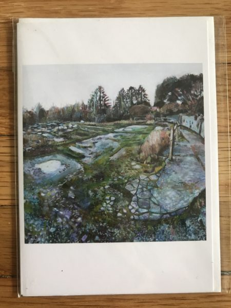 Old Dartington Nursey Greeting Card