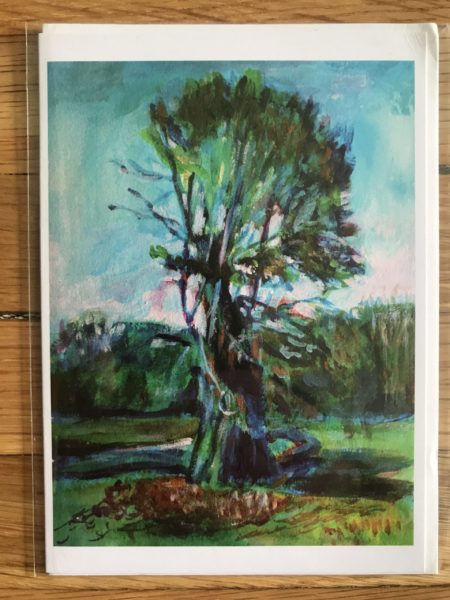 Old Tree in Prospect Park Greeting Card