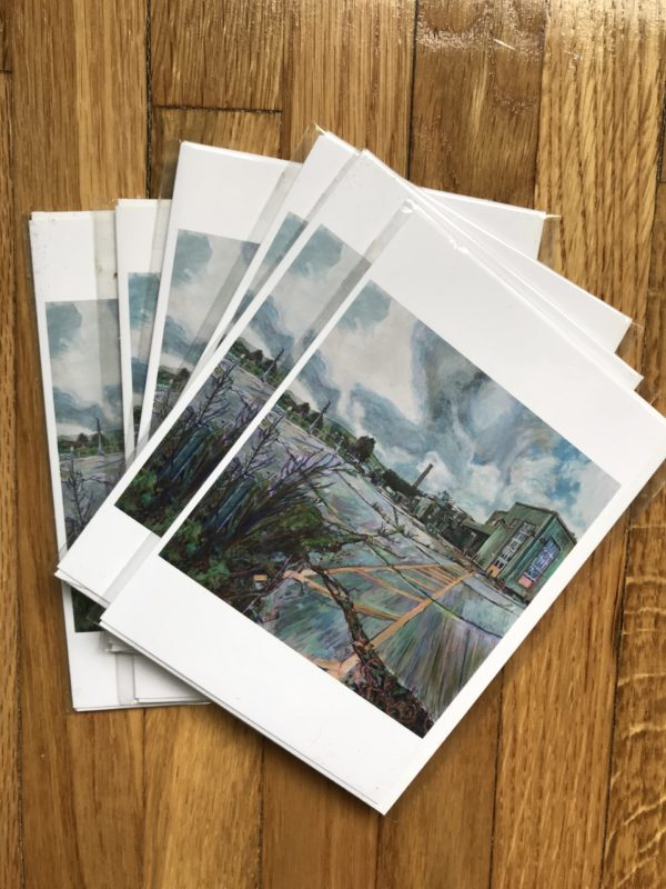 Greeting Cards of a painting by Noel hefele