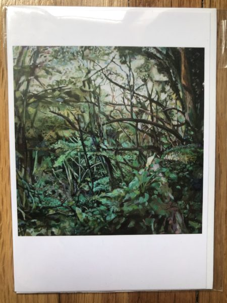 lime kiln copse greeting card