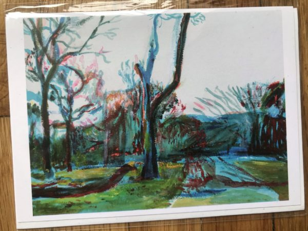 Prospect Park after Storm Greeting Card