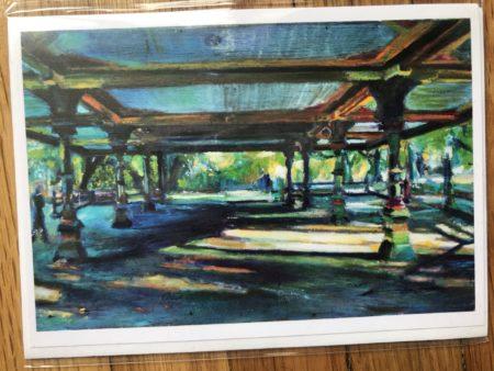 Prospect Park Pavilion Greeting Card