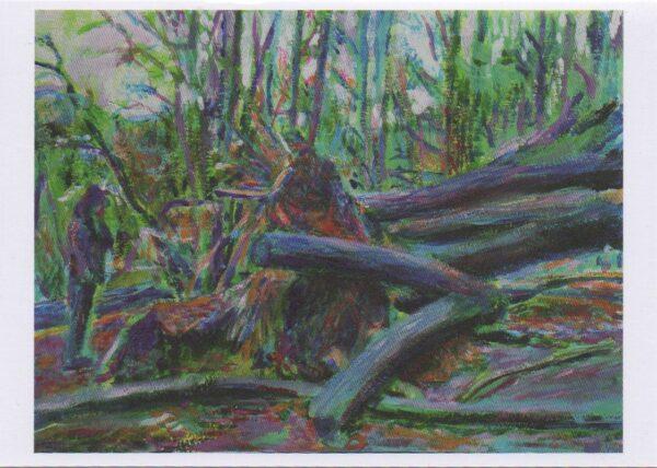 Greeting card of Noel Hefele Artwork