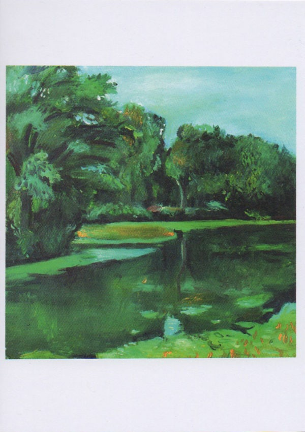 prospect park painting greeting card
